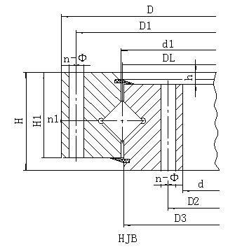 HJ系列无齿式回转支承