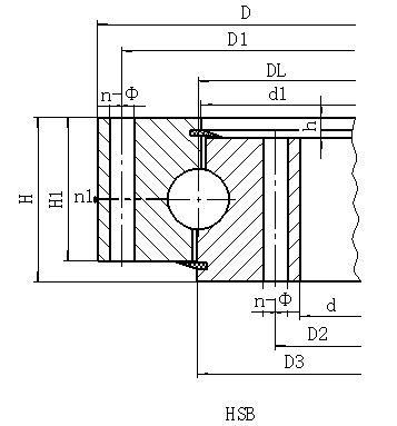 HS系列无齿型-回转支承